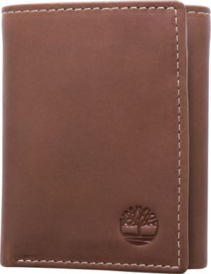 Timberland Wallets Hunter Trifold Wallet Brown - Timberland Wallets Men's Wallets