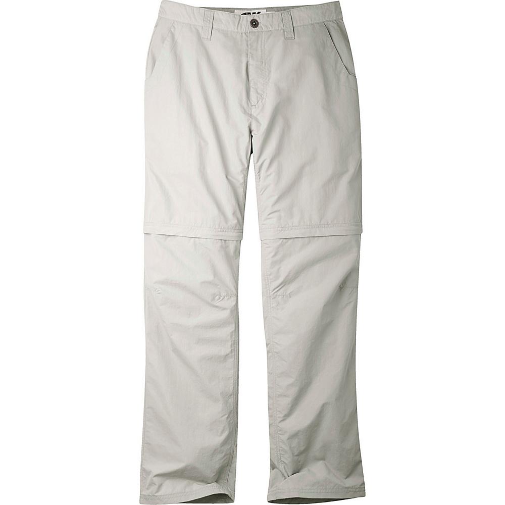 Mountain Khakis Equatorial Convertible Pants 40 - 34in - Stone - Mountain Khakis Mens Apparel - Apparel & Footwear, Men's Apparel