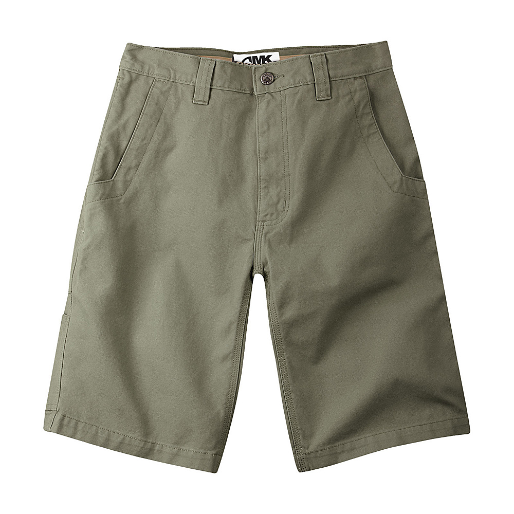 Mountain Khakis Alpine Utility Shorts 36 - 7in - Pine - Mountain Khakis Mens Apparel - Apparel & Footwear, Men's Apparel