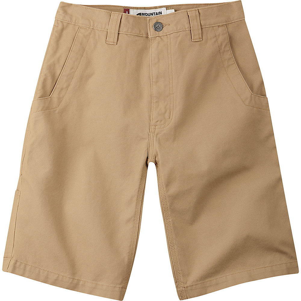 Mountain Khakis Alpine Utility Shorts 33 - 11in - Yellowstone - Mountain Khakis Mens Apparel - Apparel & Footwear, Men's Apparel