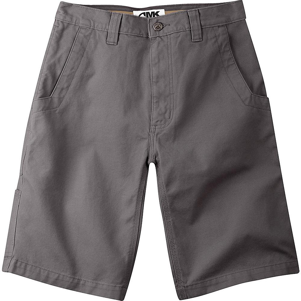 Mountain Khakis Alpine Utility Shorts 35 - 9in - Granite - Mountain Khakis Mens Apparel - Apparel & Footwear, Men's Apparel
