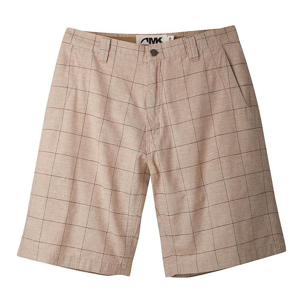 Mountain Khakis Boardwalk Plaid Shorts 34 - 12in - Yellowstone - Mountain Khakis Mens Apparel - Apparel & Footwear, Men's Apparel