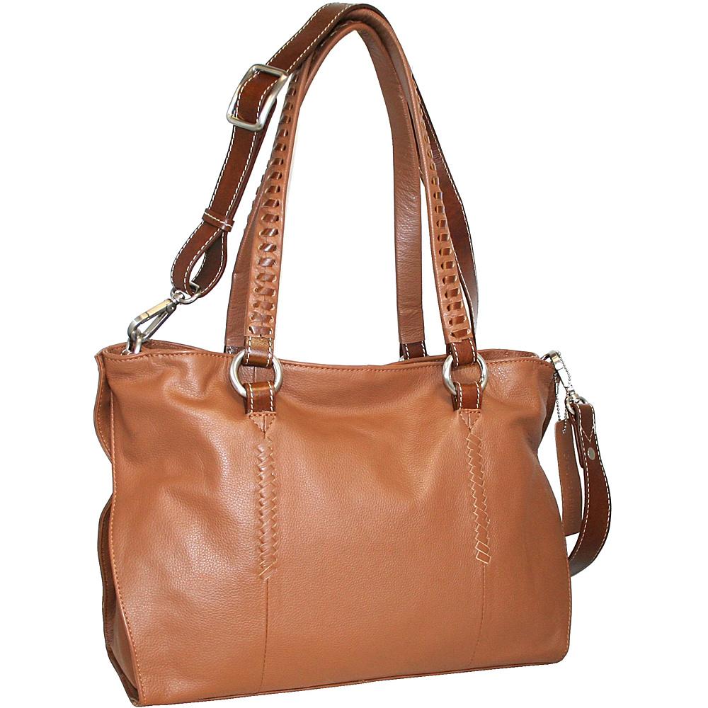 Nino Bossi Ruby Tuesday Shoulder Bag Cognac Nino Bossi Leather Handbags