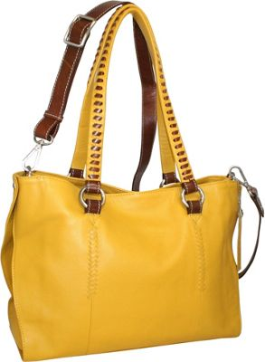 Nino Bossi Ruby Tuesday Shoulder Bag Lemon - Nino Bossi Leather Handbags