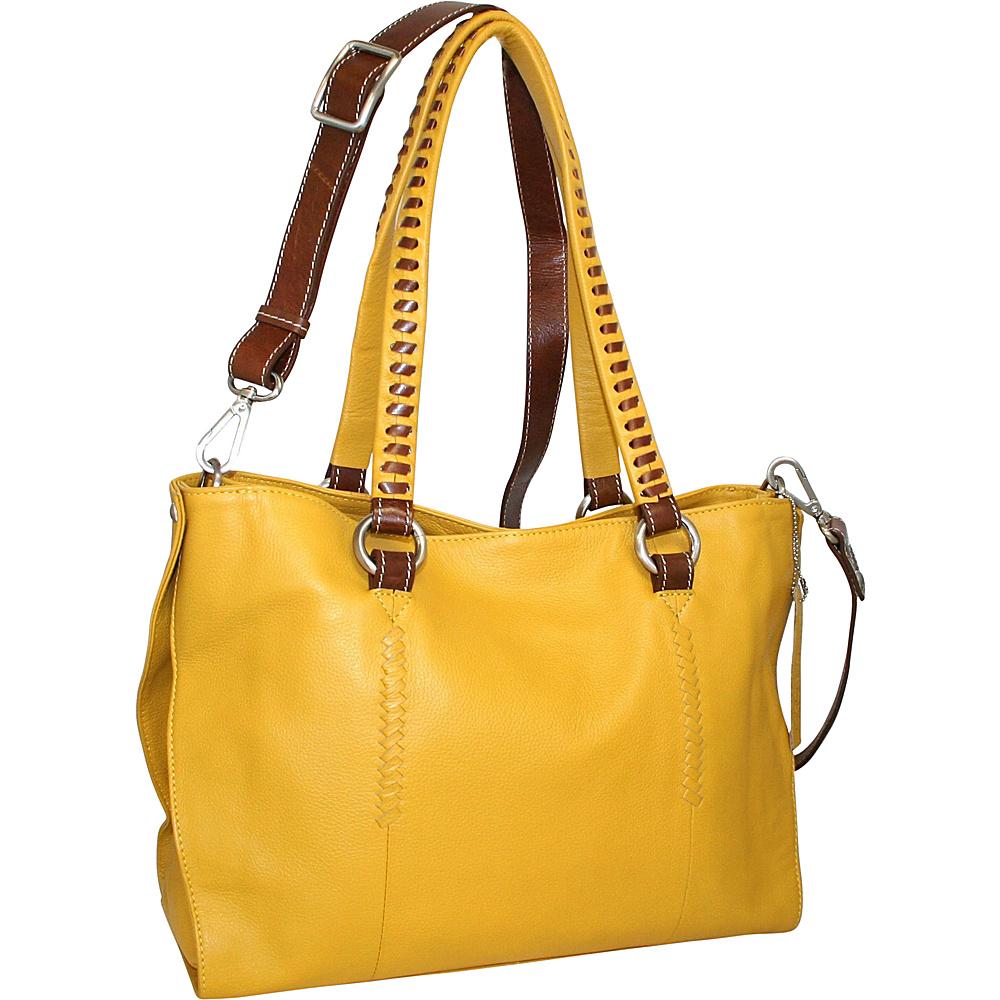 Nino Bossi Ruby Tuesday Shoulder Bag Lemon Nino Bossi Leather Handbags