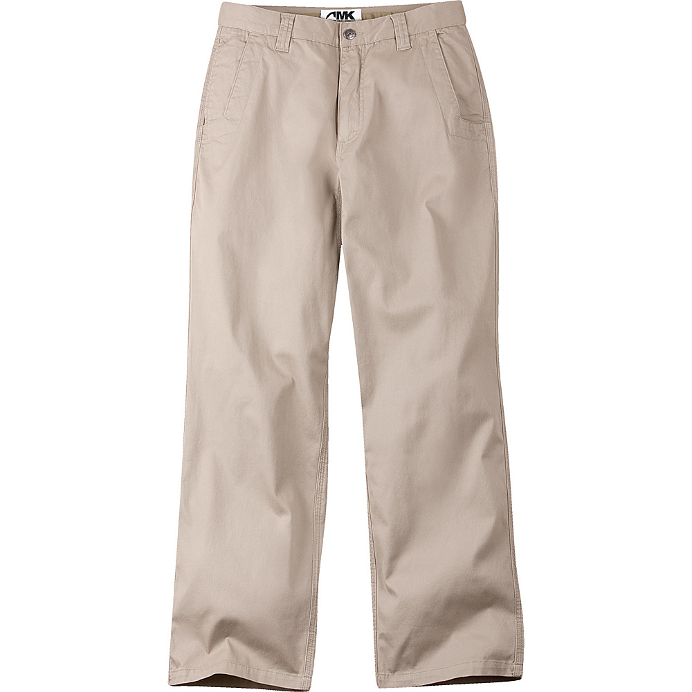 Mountain Khakis Lake Lodge Twill Pant 34 - 32in - Classic Khaki - Mountain Khakis Mens Apparel - Apparel & Footwear, Men's Apparel