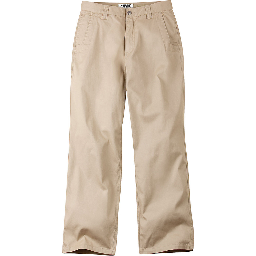 Mountain Khakis Lake Lodge Twill Pant 42 - 34in - Light Khaki - Mountain Khakis Mens Apparel - Apparel & Footwear, Men's Apparel