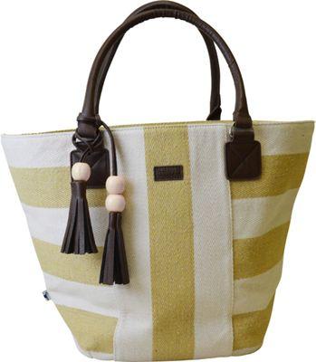 Sloane Ranger Tassel Tote Varsity Gold - Sloane Ranger Fabric Handbags