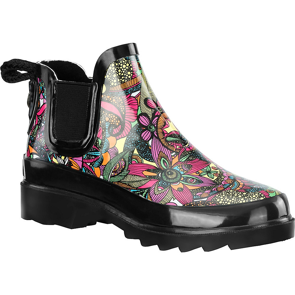 Sakroots Rhyme Ankle Rain Boot 6 M Regular Medium Sterling Spirit Desert Sakroots Women s Footwear
