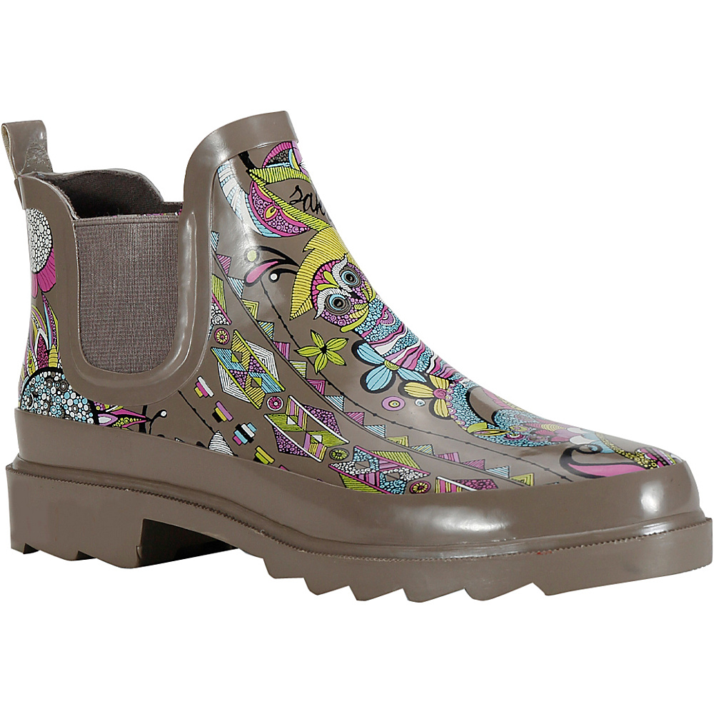 Sakroots Rhyme Ankle Rain Boot 7 M Regular Medium Sterling Spirit Desert Sakroots Women s Footwear