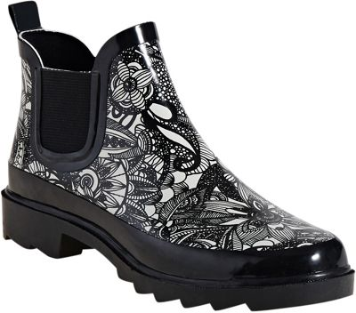 Sakroots Rhyme Ankle Rain Boot 7 - M