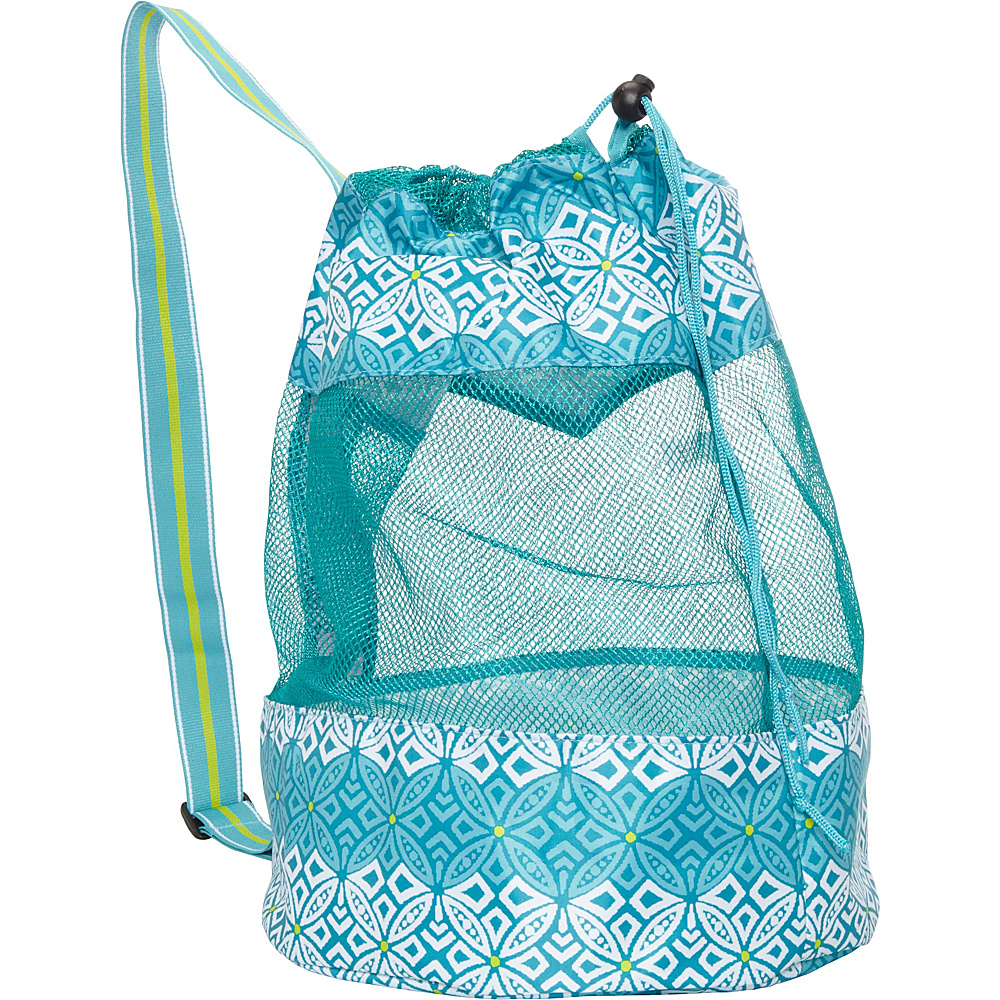 All For Color Mesh Sling Bag Capri Cove - All For Color All-Purpose Totes