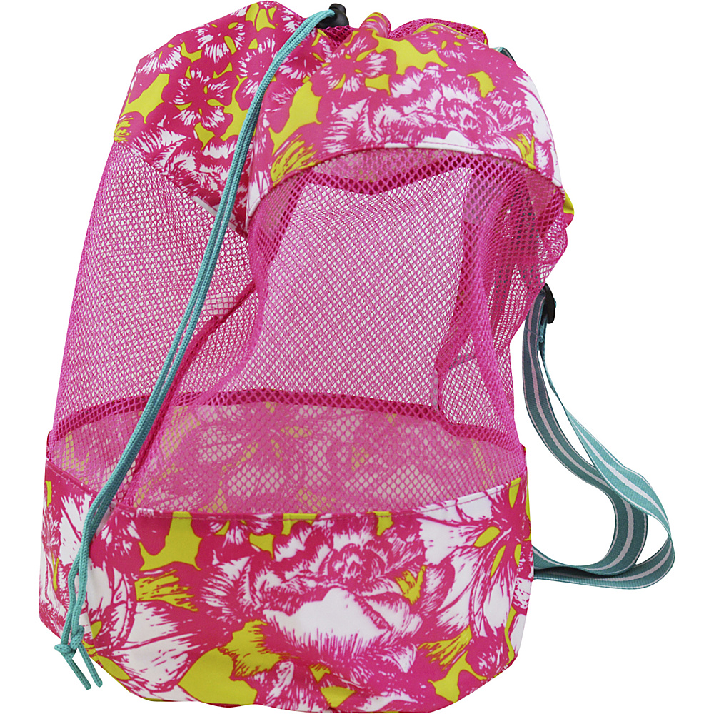All For Color Mesh Sling Bag Aloha Paradise - All For Color All-Purpose Totes