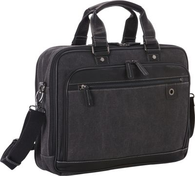 Goodhope Bags The Noble Scan Express Brief Black - Goodhope Bags Non-Wheeled Business Cases