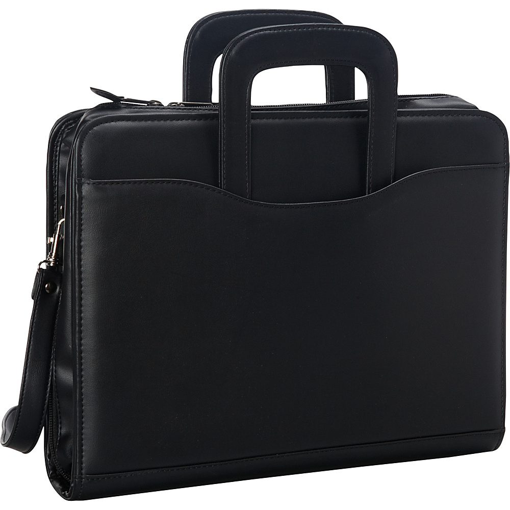 Goodhope Bags Zip Around 3 Ring Binder Black Goodhope Bags Business Accessories