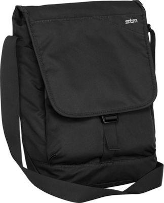 STM Goods Linear Small Shoulder Bag Black - STM Goods Messenger Bags