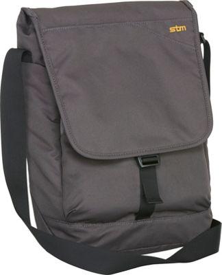 STM Goods Linear Small Shoulder Bag Steel - STM Goods Messenger Bags