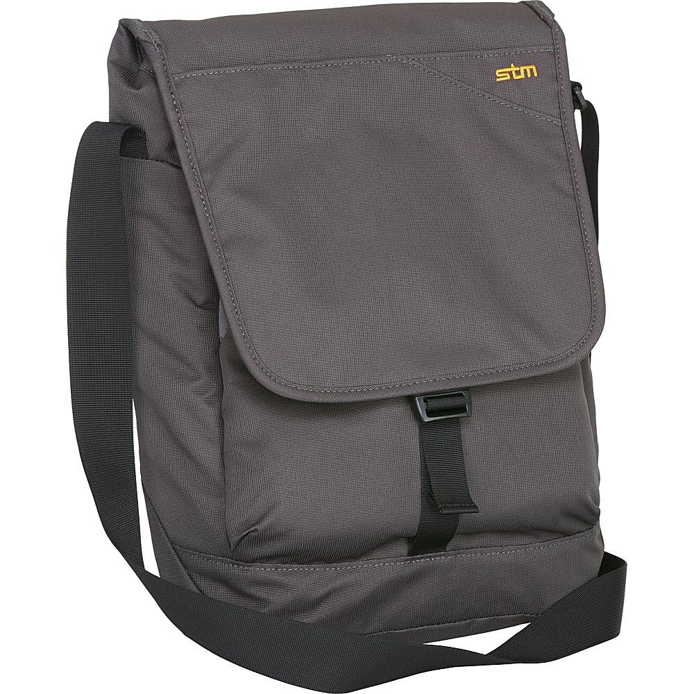 STM Bags Linear Small Shoulder Bag Steel STM Bags Messenger Bags