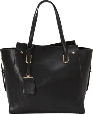 La Diva Cassandra Tote Black - La Diva Manmade Handbags