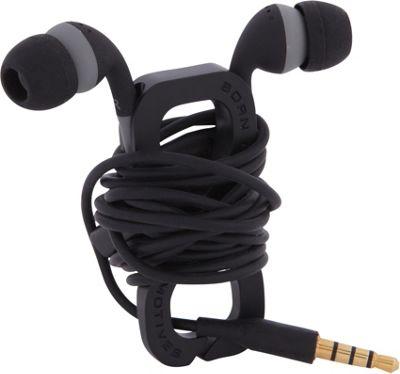 Boom Movement Wrap In-Ear Headphones w/ Mic Black/Black - Boom Movement Electronic Accessories
