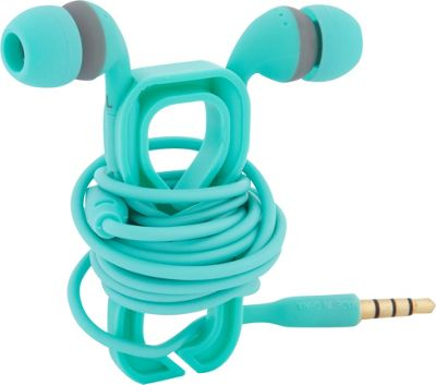 Boom Movement Wrap In-Ear Headphones w/ Mic Mint - Boom Movement Electronic Accessories
