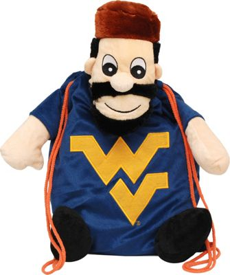 Forever Collectibles NCAA - Backpack Pal - West Virginia University Mountaineers Yellow - Forever Collectibles School & Day Hiking Backpacks