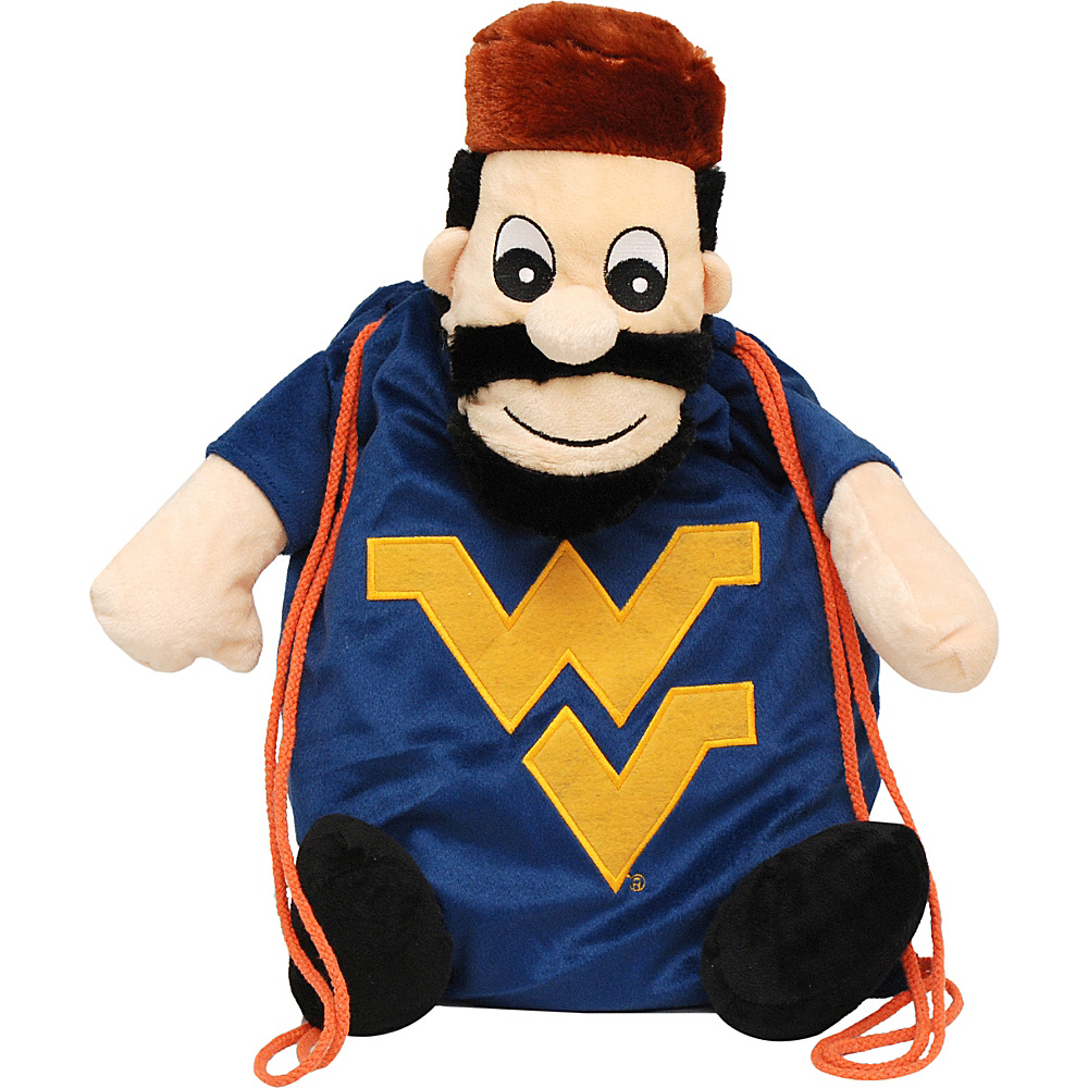Forever Collectibles NCAA Backpack Pal West Virginia University Mountaineers Yellow Forever Collectibles Everyday Backpacks