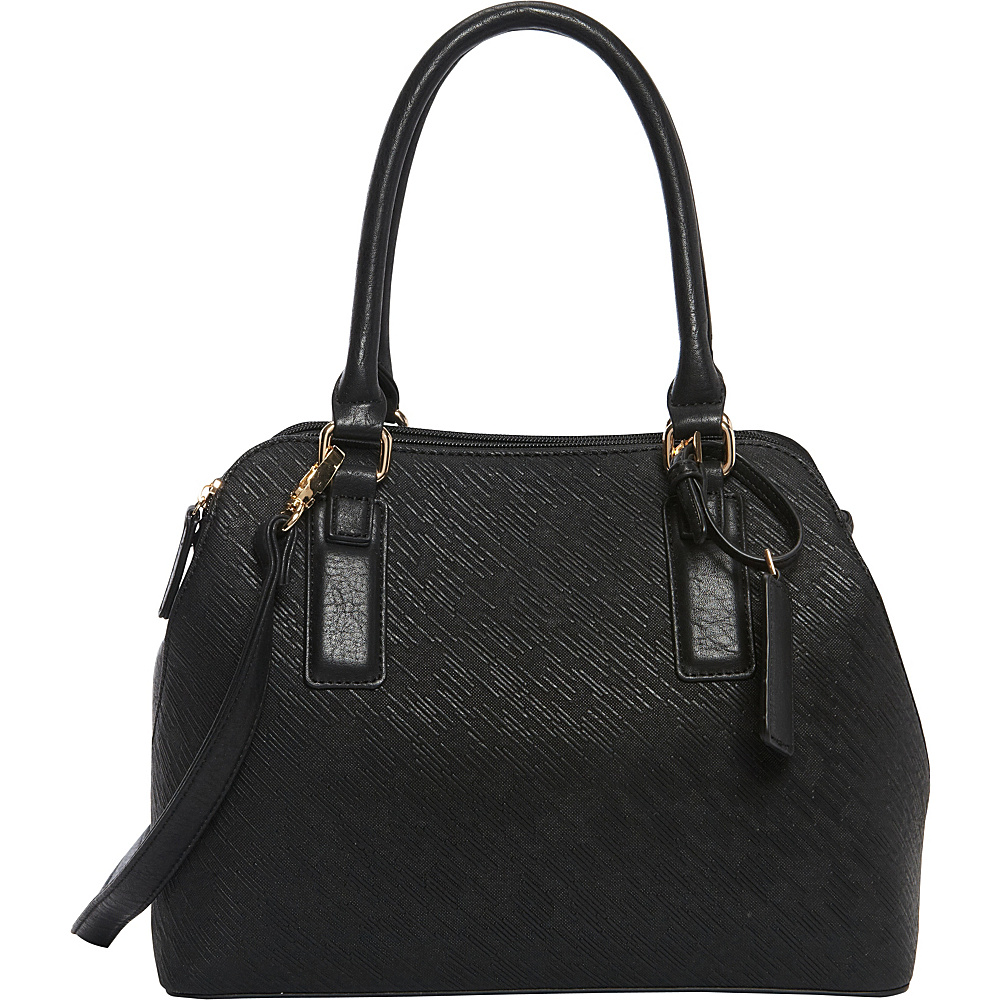 Hush Puppies Robin Satchel Black Hush Puppies Manmade Handbags