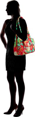 Vera Bradley Turnlock Satchel Rumba - Vera Bradley Fabric Handbags