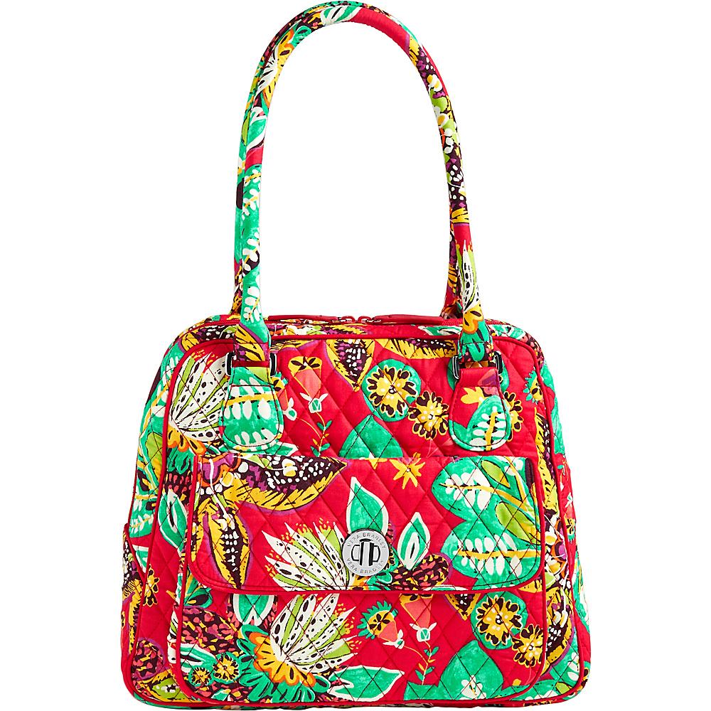 Vera Bradley Turnlock Satchel Rumba - Vera Bradley Fabric Handbags - Handbags, Fabric Handbags