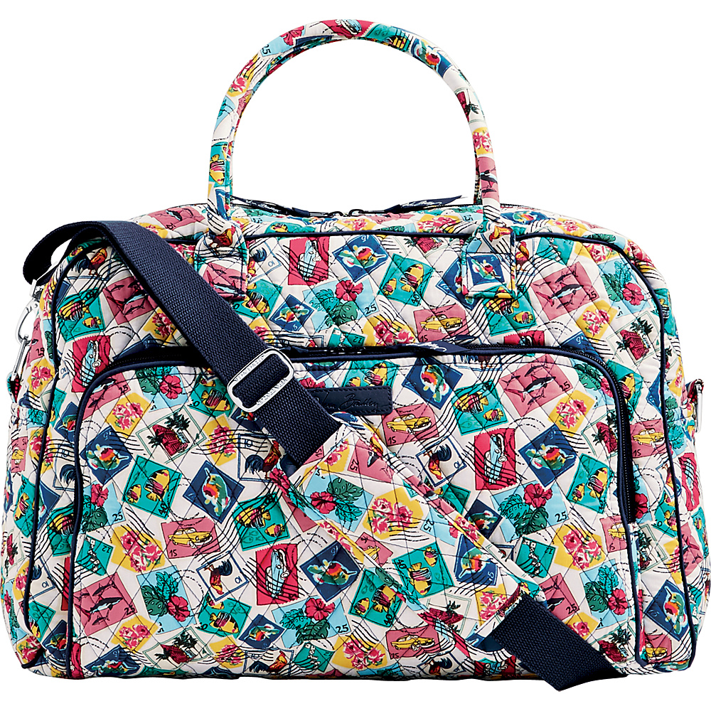 Vera Bradley Weekender Cuban Stamps - Vera Bradley Luggage Totes and Satchels - Luggage, Luggage Totes and Satchels