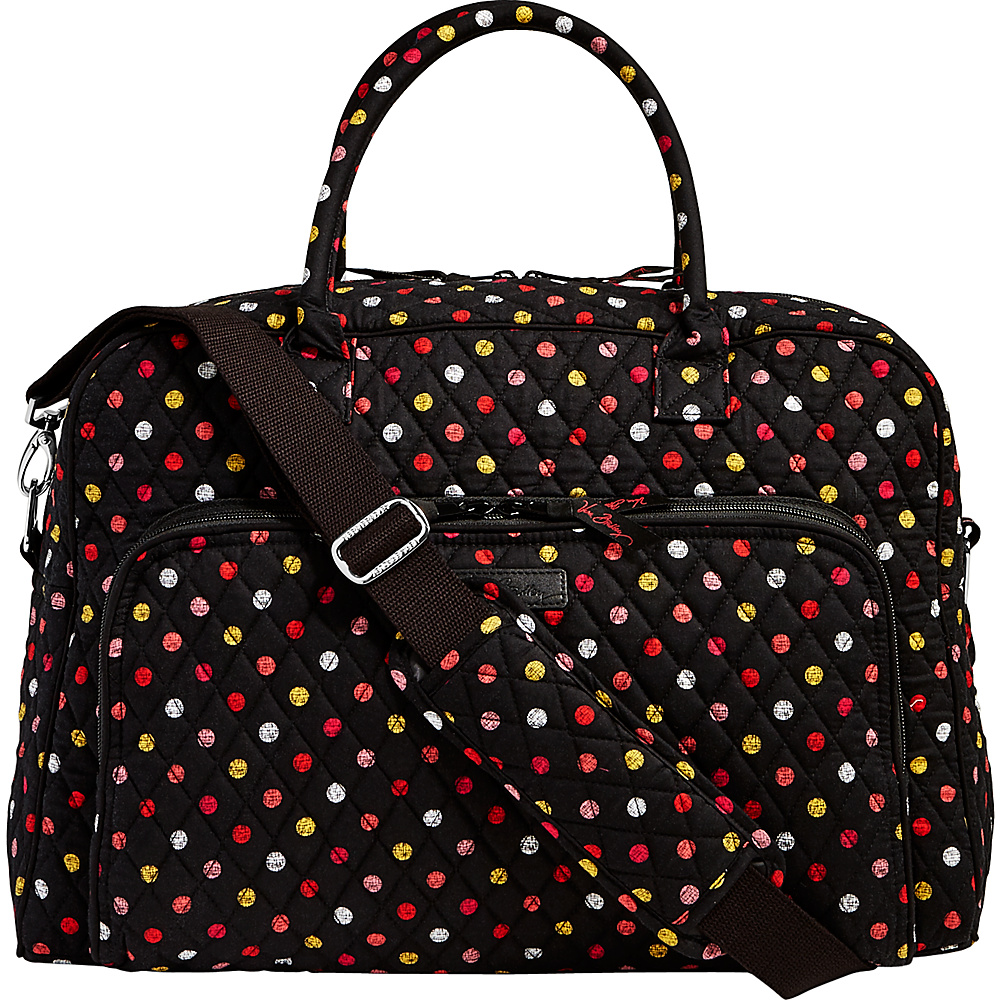 Vera Bradley Weekender Havana Dots - Vera Bradley Luggage Totes and Satchels - Luggage, Luggage Totes and Satchels