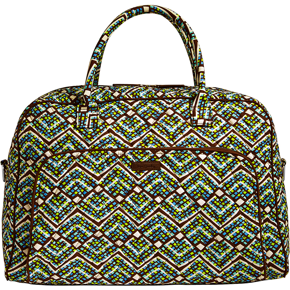 Vera Bradley Weekender Rain Forest - Vera Bradley Luggage Totes and Satchels - Luggage, Luggage Totes and Satchels