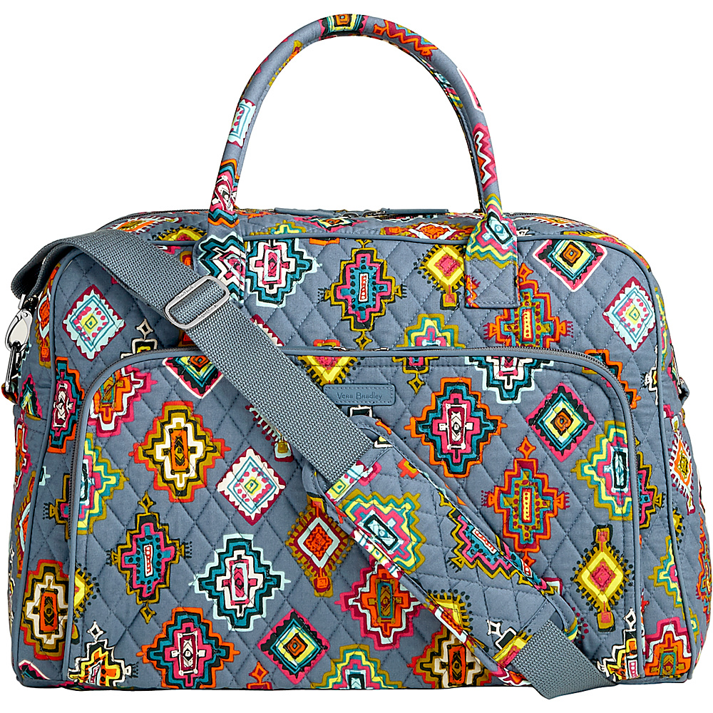 Vera Bradley Weekender Painted Medallions - Vera Bradley Luggage Totes and Satchels - Luggage, Luggage Totes and Satchels