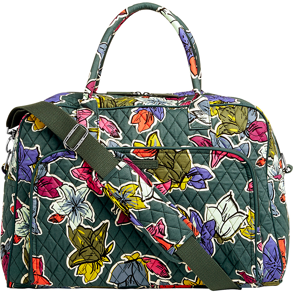 Vera Bradley Weekender Falling Flowers - Vera Bradley Luggage Totes and Satchels - Luggage, Luggage Totes and Satchels