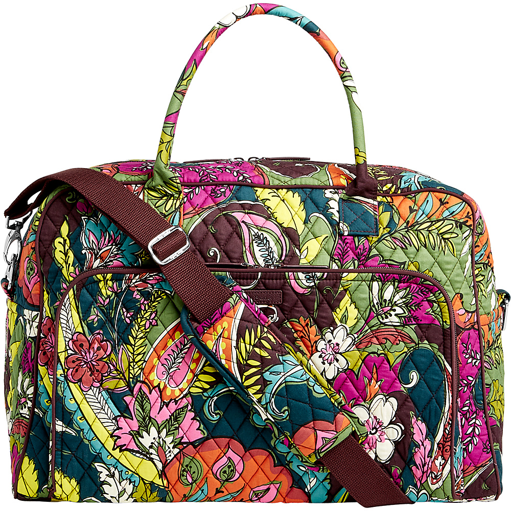 Vera Bradley Weekender Autumn Leaves - Vera Bradley Luggage Totes and Satchels - Luggage, Luggage Totes and Satchels