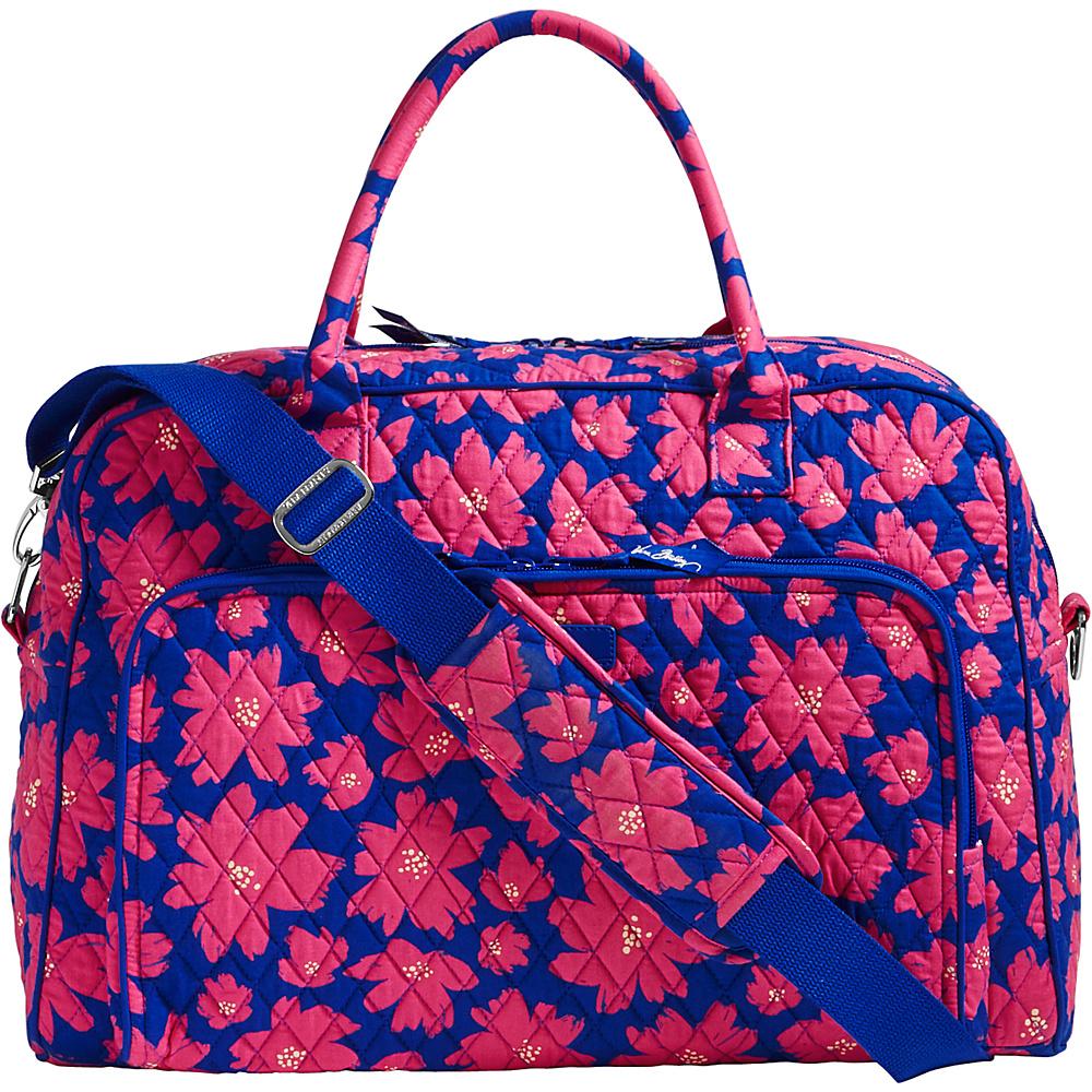 Vera Bradley Weekender Art Poppies - Vera Bradley Luggage Totes and Satchels