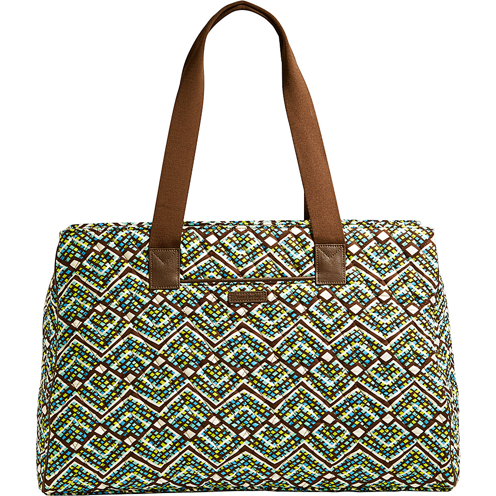 Vera Bradley Triple Compartment Travel Bag Rain Forest - Vera Bradley Fabric Handbags - Handbags, Fabric Handbags