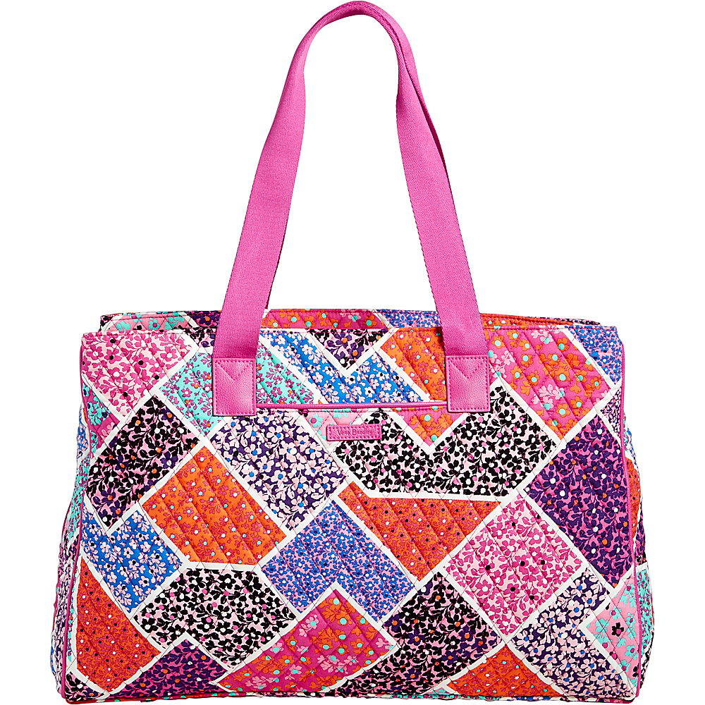 Vera Bradley Triple Compartment Travel Bag Modern Medley - Vera Bradley Fabric Handbags - Handbags, Fabric Handbags