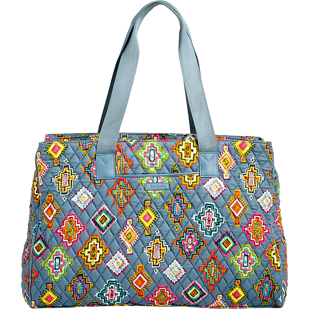 Vera Bradley Triple Compartment Travel Bag Painted Medallions - Vera Bradley Fabric Handbags - Handbags, Fabric Handbags
