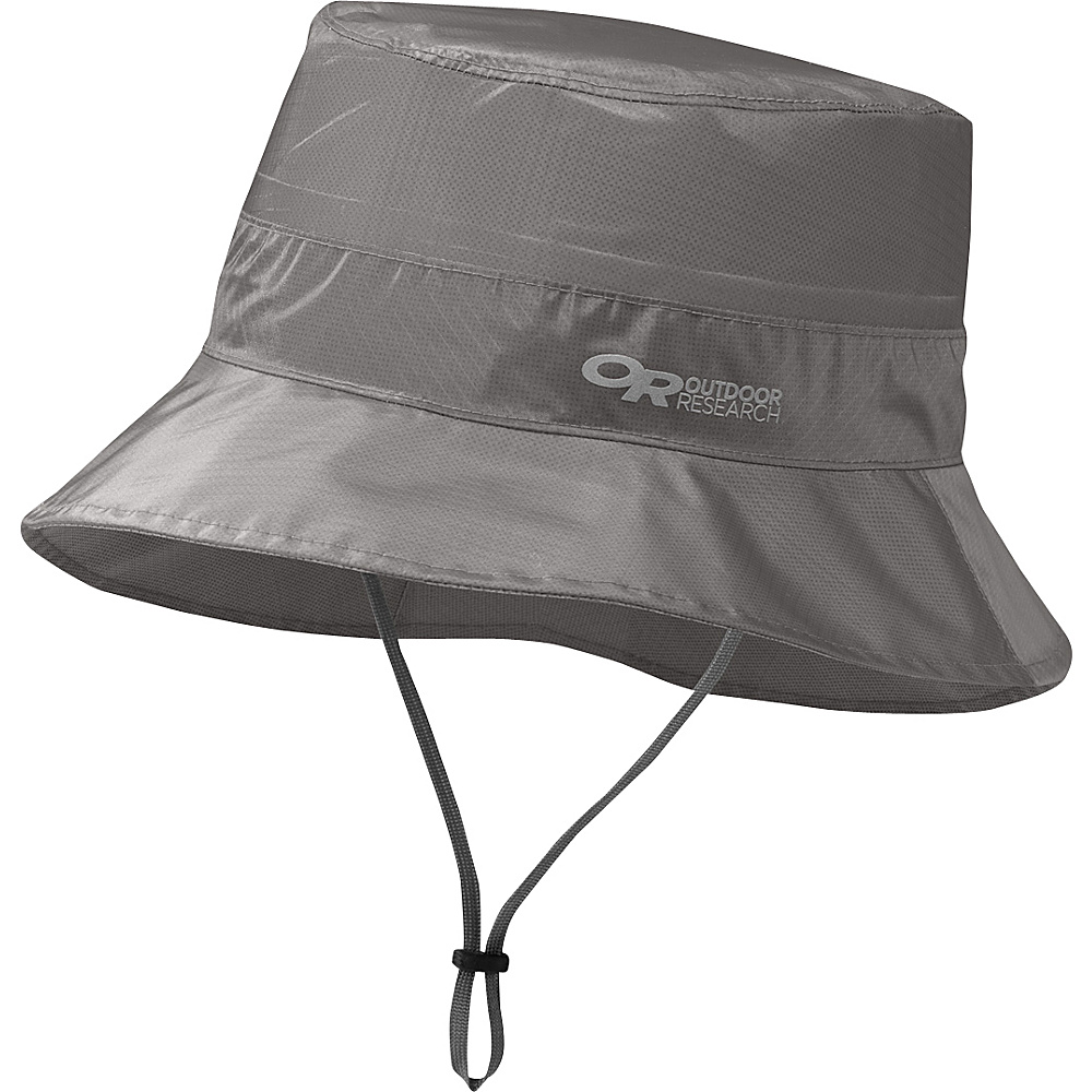 Outdoor Research Helium Rain Bucket S/M - Pewter - Outdoor Research Hats/Gloves/Scarves - Fashion Accessories, Hats/Gloves/Scarves