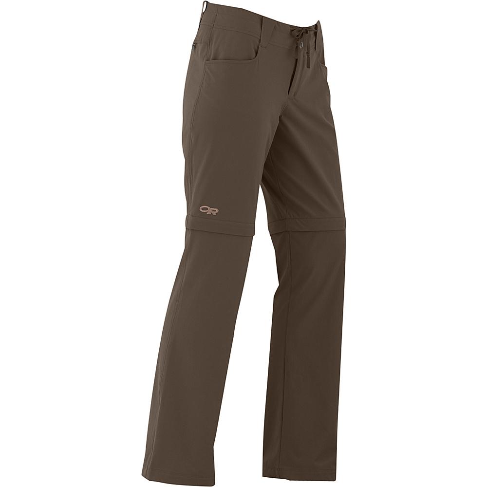 Outdoor Research Womens Ferrosi Convertible Pants 8 - Mushroom - Outdoor Research Womens Apparel - Apparel & Footwear, Women's Apparel
