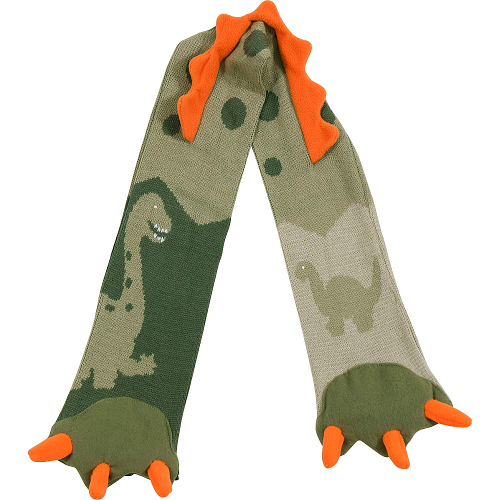 Kidorable Dinosaur Scarf Green One Size Kidorable Hats Gloves Scarves