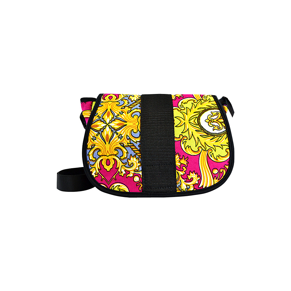 NuFoot NuPouch Crossbody Bag Pink Baroque NuFoot Manmade Handbags