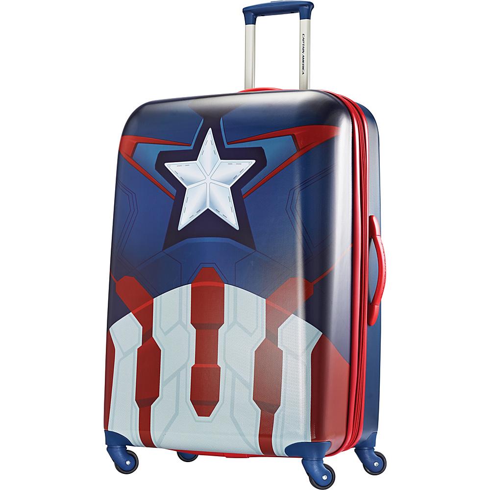 American Tourister Marvel Spinner 28 Captain America American Tourister Hardside Checked