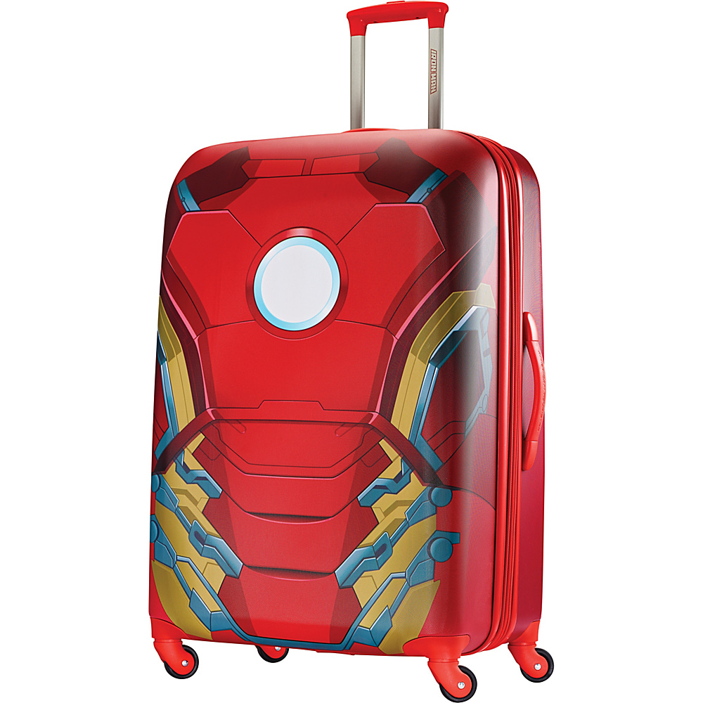 American Tourister Marvel Spinner 28 Iron Man - American Tourister Hardside Checked