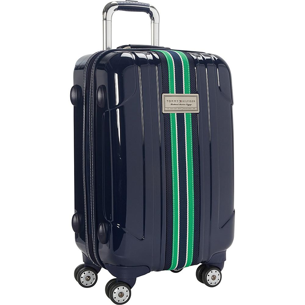 Tommy Hilfiger Luggage Santa Monica 21 Hardside Carry On Spinner Navy Tommy Hilfiger Luggage Softside Carry On