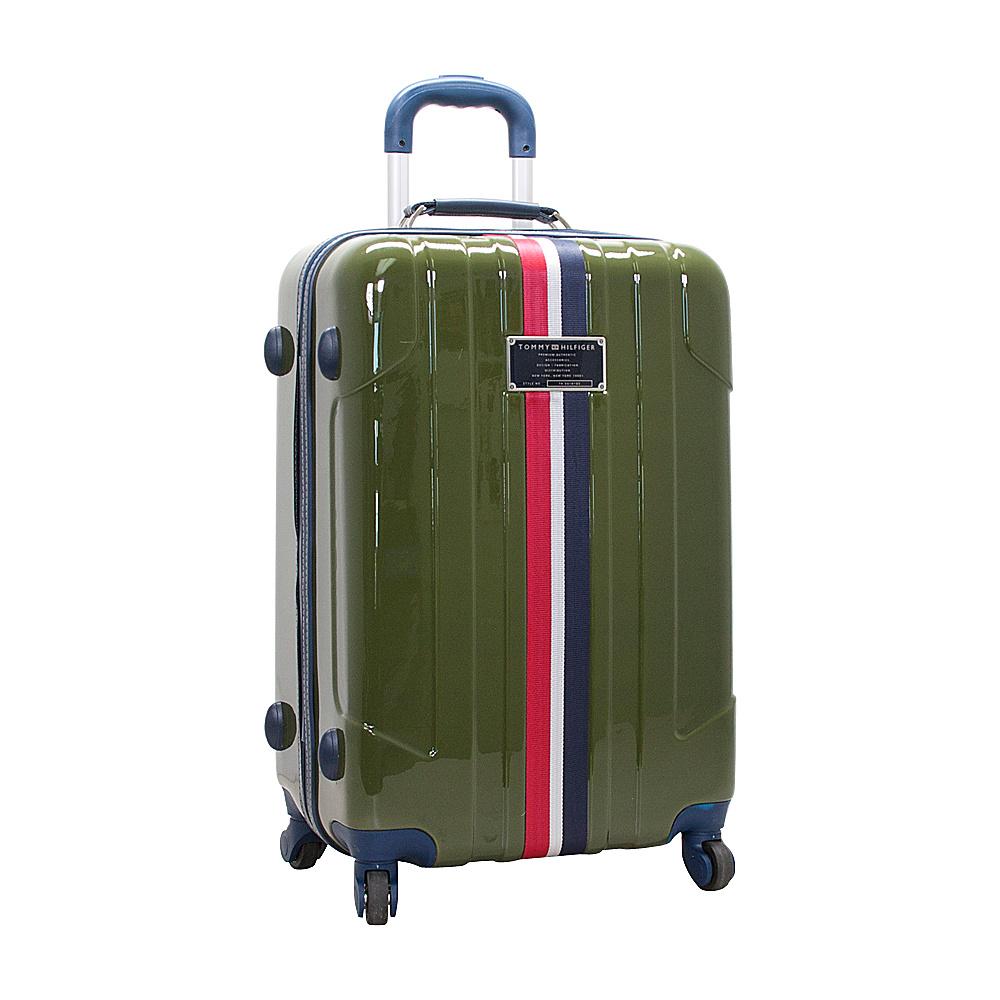 Tommy Hilfiger Luggage Lochwood 28 Hardside Upright Spinner Olive Tommy Hilfiger Luggage Softside Checked