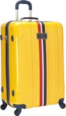 Tommy Hilfiger Luggage Lochwood 28 Hardside Upright Spinner Yellow - Tommy Hilfiger Luggage Softside Checked