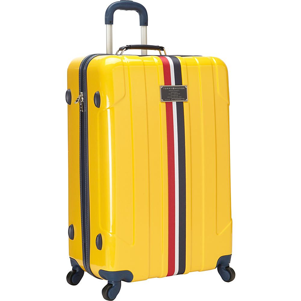 Tommy Hilfiger Luggage Lochwood 28 Hardside Upright Spinner Yellow Tommy Hilfiger Luggage Softside Checked